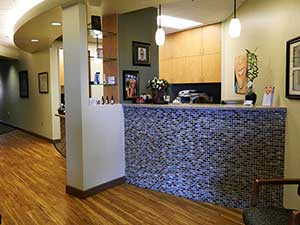 millenium dental associates lobby